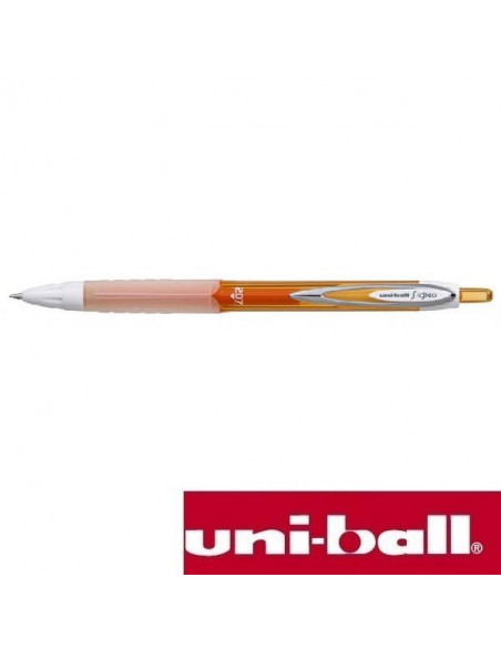 UNI-BALL SIGNO 207 COLORS DE 0.7 MM COLOR NARANJA