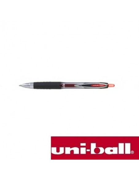 BOLIGRAFO UNIBALL SIGNO 207 CON BOLA DE 0.7 MM COLOR ROJO