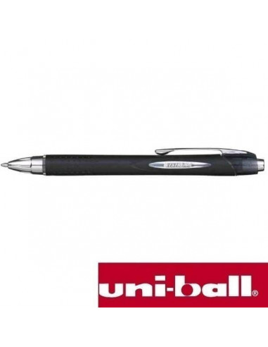 BOLIGRAFO UNIBALL JETSTREAM RETRACTIL NEGRO