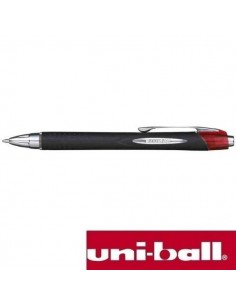 BOLIGRAFO UNIBALL JETSTREAM RETRACTIL ROJO