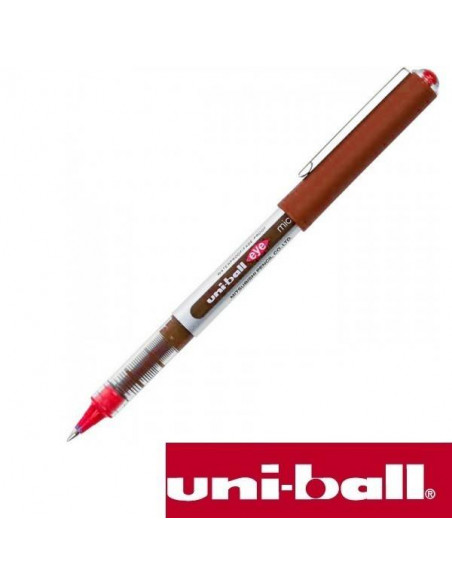 ROLLERBALL EYE MICRO 0.5 MM UB-150 ROJO