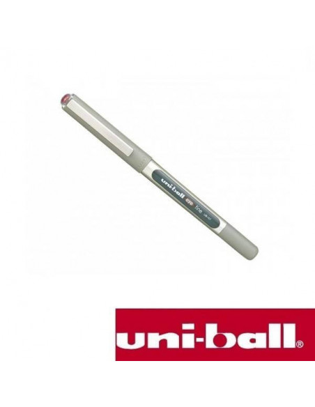 BOLIGRAFO ROLLERBALL UNIBALL EYE FINE 0.7 MM UB-157 COLOR ROJO