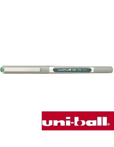 BOLIGRAFO ROLLERBALL UNIBALL EYE FINE 0.7 MM UB-157 COLOR VERDE