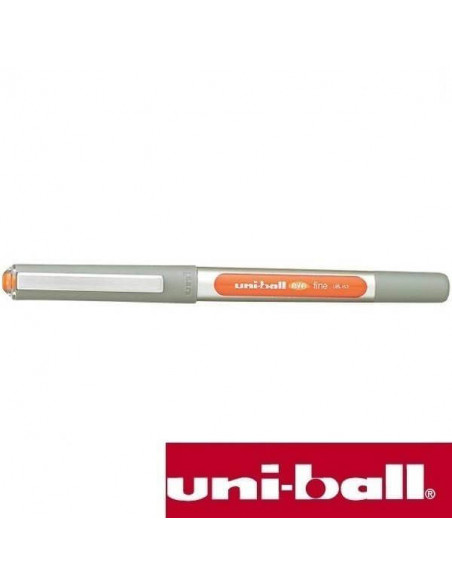 BOLIGRAFO ROLLERBALL UNIBALL EYE FINE 0.7 MM UB-157 COLOR NARANJA