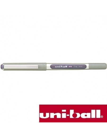 BOLIGRAFO ROLLERBALL UNIBALL EYE FINE 0.7 MM UB-157 COLOR VIOLETA
