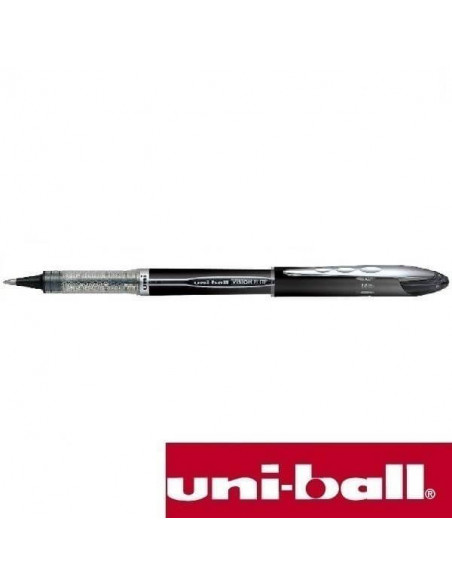 ROLLER CON CARTUCHO RECAMBIABLE UNI-BALL 0.5 MM NEGRO