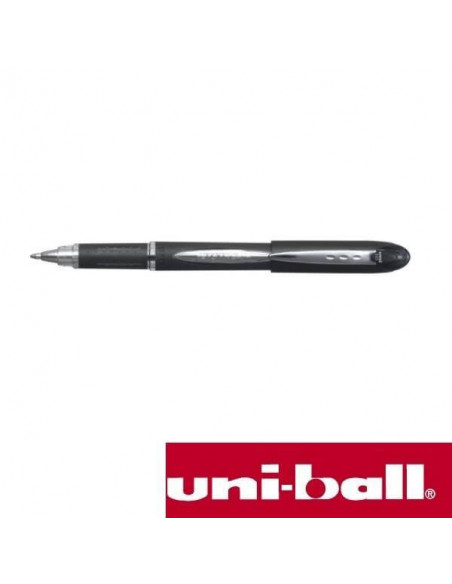 BOLIGRAFO NEGRO ROLLERBALL UNI JETSTREAM 1.0 MM