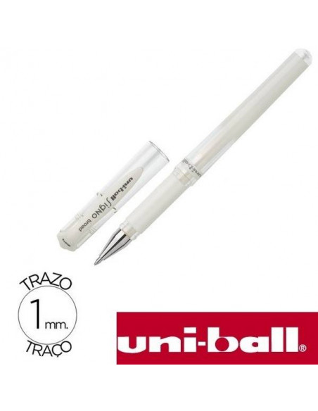 BOLIGRAFO SIGNO BROAD 1.0 MM COLOR BLANCO