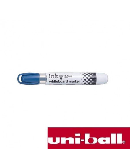 ROTULADOR PARA PIZARRA BLANCA INKVIEW 1.8-2.2 MM COLOR AZUL