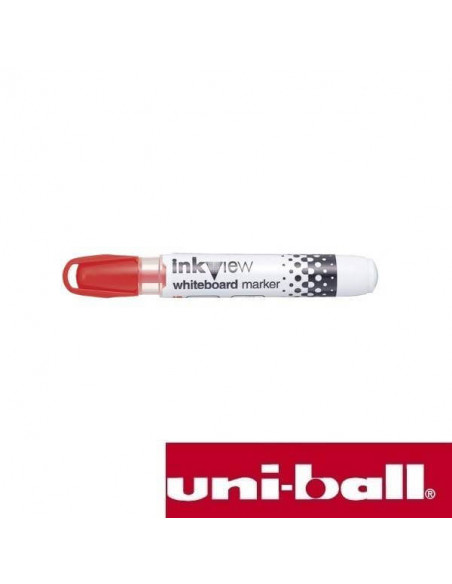 ROTULADOR PARA PIZARRA BLANCA INKVIEW 1.8-2.2 MM COLOR ROJO