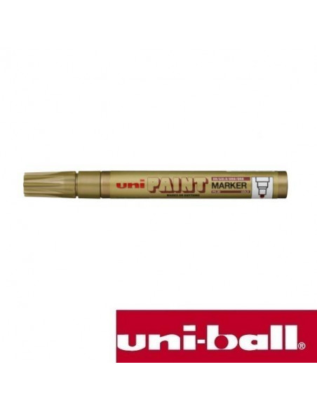 ROTULADOR PERMANENTE UNI PAINT 2.2-2.8 MM COLOR ORO