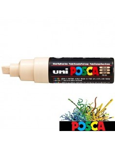 ROTULADOR POSCA DE 8MM A BASE DE AGUA COLOR BEIGE