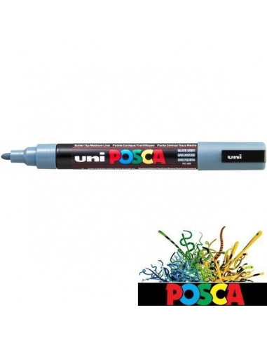 POSCA DE 1.8-2.5 MM ROTULADOR COLOR GRIS PIZARRA