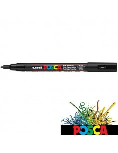 POSCA UNI-BALL DE 0.9-1.3 MM ROTULADOR NEGRO