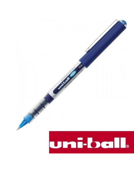 BOLÍGRAFO UNI-BALL EYE ULTRA MICRO DE 0.38 MM COLOR AZUL