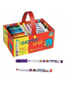 SUPER ROTULADORES SCHOOL PACK 36 LINEA GIOTTO BE-BE