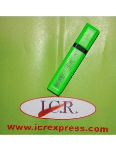 MARCADOR FLUORESCENTE  HIGHT QUALITY ICR VERDE