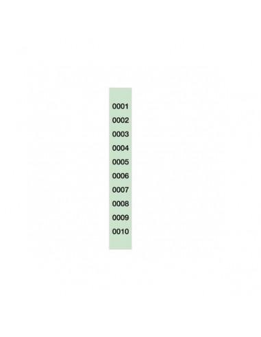 TIRA RIFA 150 x 30 CM DE 1 AL 1000 SIN MICROPERFORAR