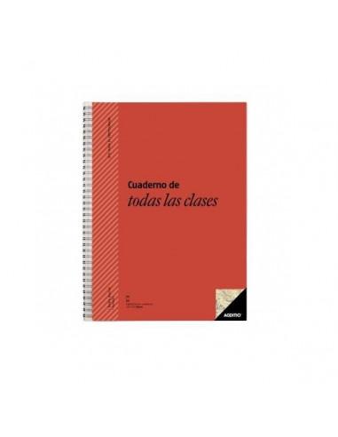 CUADERNO DE TODAS LAS CLASES PARA PROFESORES 22.5X31CM