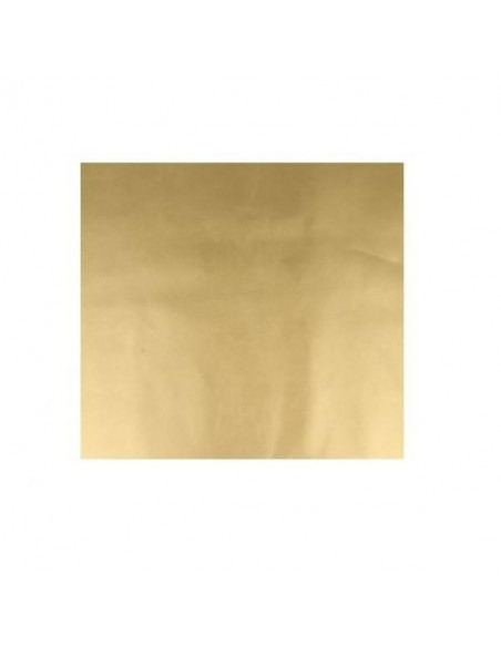 LÁMINA DE POLIPIEL PARA DECORACIONES DE 50X68 CM COLOR ORO