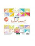 PAPELES PARA SCRAPBOOKING DE 30X30 CM CON 180 HOJAS BEST OF SUMMER
