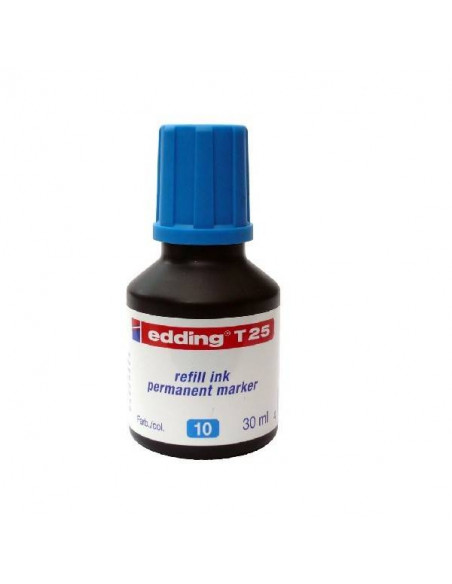 TINTA EDDING T25 30 ML COLOR AZUL