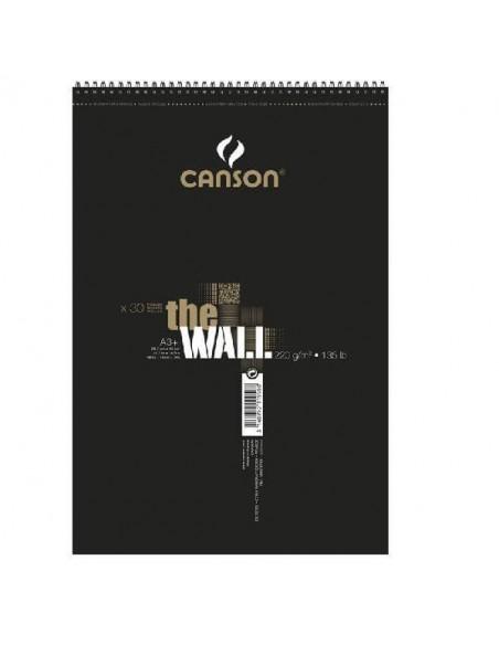 BLOCK DE DIBUJOS CANSON DE 29.7X43X7 CM EXTRALISO DE 220 GRAMOS CON 30 HOJAS