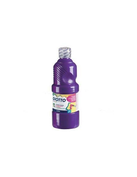 TEMPERA LIQUIDA 500 ML COLOR VIOLETA GIOTTO