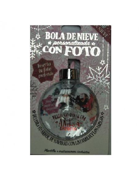BOLA DE NIEVE AMIGA