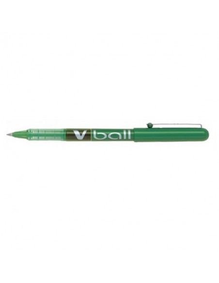 PILOT V BALL 0.5 MM BOLÍGRAFO DE TINTA LIQUIDA COLOR VERDE