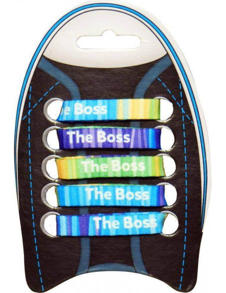 "CORDONES PERSONALIZADOS ""THE BOSS"""