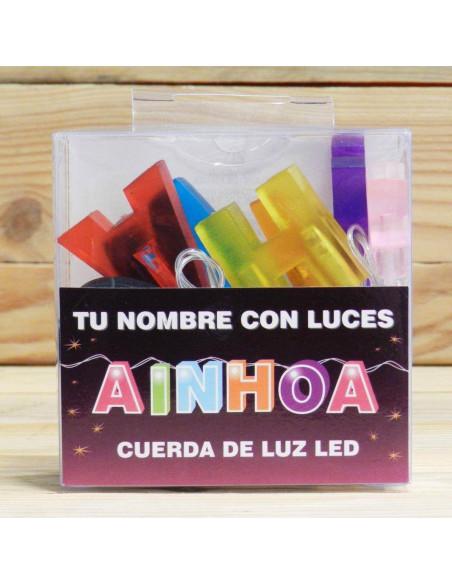 AINHOA CUERDA DE LUCES LED CON NOMBRE