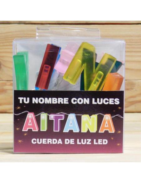 CUERDA DE LETRAS LED AITANA