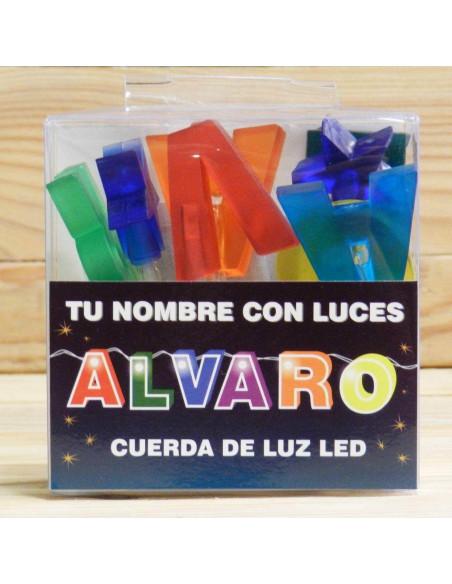 CUERDA CON NOMBRE LED ALVARO