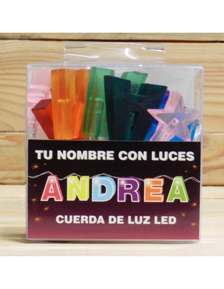 ANDREA CUERDA CON LUCES LED