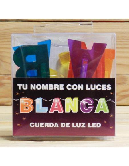 LUCES LED CON NOMBRES PERSONALIZADOS BLANCA