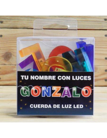 CUERDA CON NOMBRE LED GONZALO