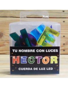"""NOMBRE LED """"HECTOR"""""""