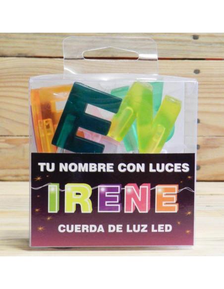 CUERDA DE LETRAS LED IRENE