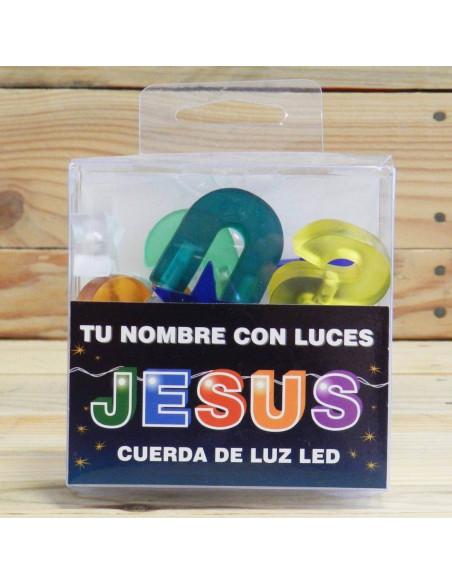 NOMBRE CON CUERDA LED JESÚS