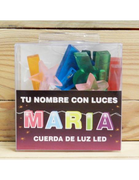MARIA NOMBRE CON LUCES LED