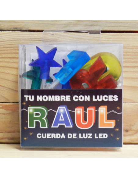 "LUCES LED ""RAUL"""