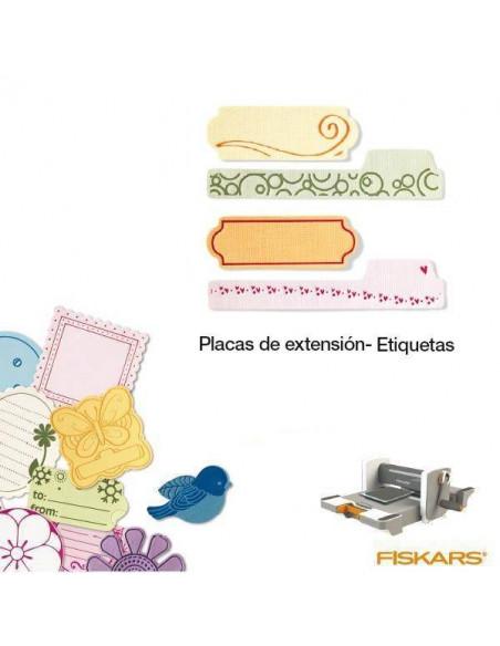 PLACAS DE EXTENSION MINI PARA TROQUELES DE LA MAQUINA FUSE CREATIVITY SYSTEM ETIQUETAS