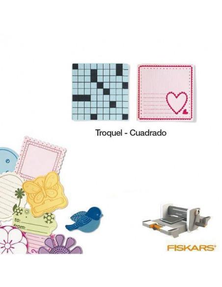 TROQUEL PARA MATERIALES GRUESOS TAMAÑO MEDIANO PARA MAQUINA FUSE CREATIVITY SYSTEM MOD. CUADRADO