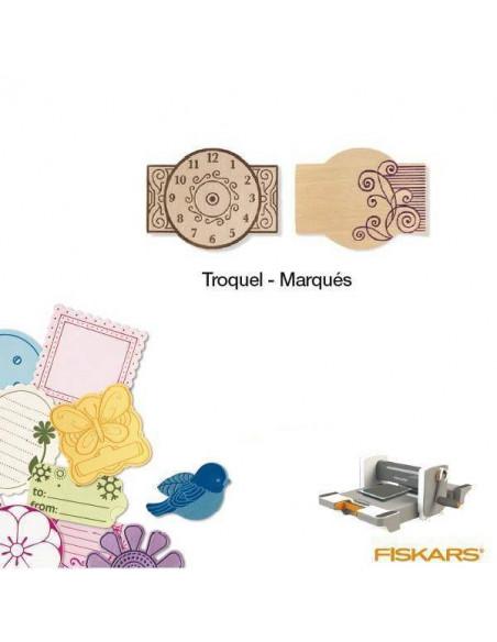 TROQUEL PARA MATERIALES GRUESOS TAMAÑO MEDIANO PARA MAQUINA FUSE CREATIVITY SYSTEM MOD. MARQUES