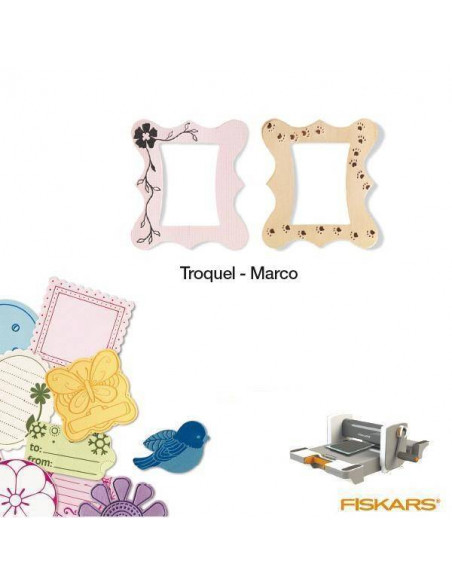 TROQUEL PARA MATERIALES GRUESOS TAMAÑO MEDIANO PARA MAQUINA FUSE CREATIVITY SYSTEM MOD. MARCO
