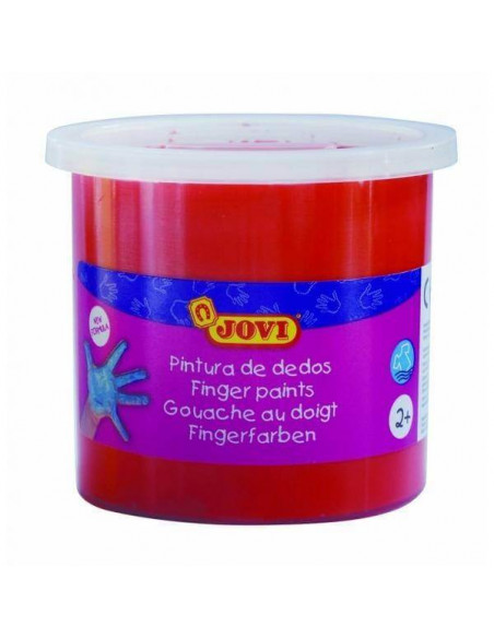PINTURA DE DEDOS 125ML COLOR BERMELLON JOVI