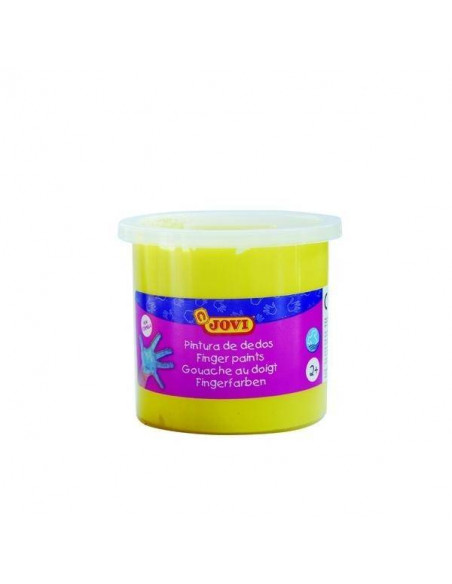 PINTURA DE DEDOS 125 ML COLOR AMARILLO JOVI