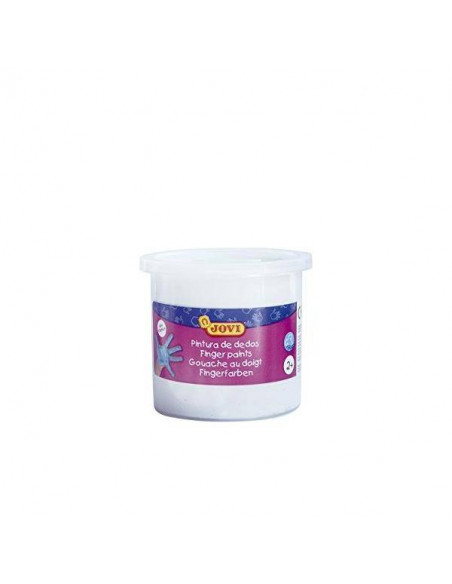 PINTURA DE DEDOS 125 ML COLOR BLANCO JOVI