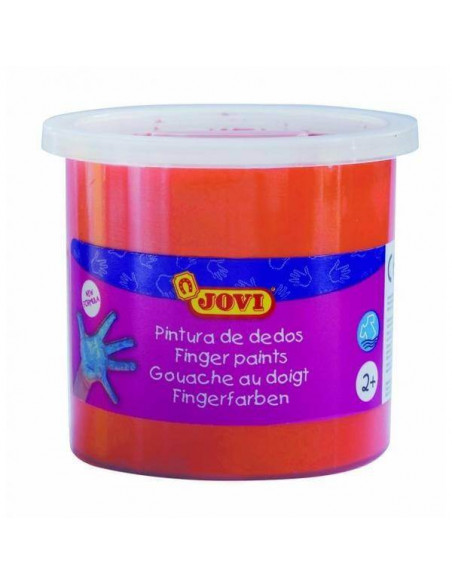 PINTURA DE DEDOS 125 ML COLOR NARANJA JOVI
